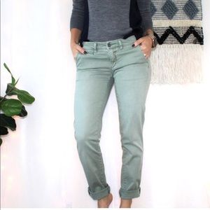 Antho. Pilcro & The Lettepress Hyphen Green Chinos